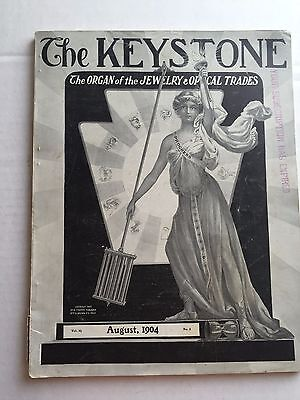 1904 The Keystone Jewelry Trade Catalog Tons of 1900's Items