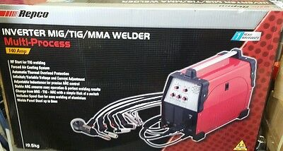 Inverter Mig - Tig - Mma Welder 140Amp Retails At $1349.00