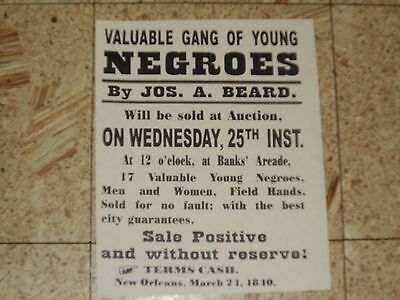 5 Black Americana Negroe Colored People Historical Posters Vintage Slave History