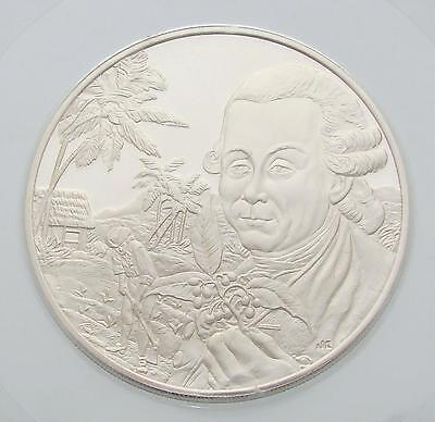 1978 Seychelles Sterling Silver Medal, City of Victoria, Coin, Proof, UNC