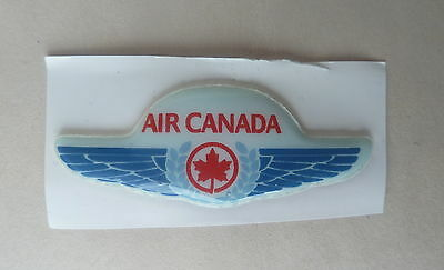 Air Canada Junior Plastic  Wings Stickers  Vintage Wings