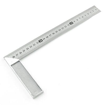 30cm Stainless Steel Right Measuring Angle Square Ruler CT T4S5
