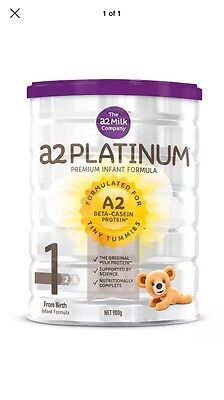 3x 900gram A2 Platinum Infant Formula Stage 1