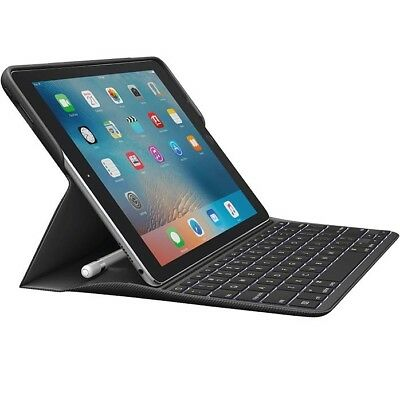 Logitech CREATE Backlit Keyboard Case with Apple Pencil holder for iPad pro 9.7""