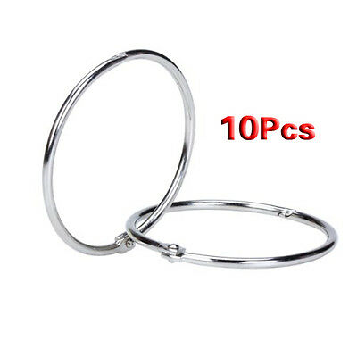 10x Hinged Rings for Scrapbooks Albums - 58mm CT L2O3