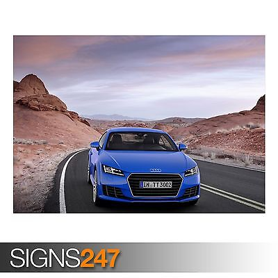 AUDI R8 PROFILE CAR POSTER Photo Picture Poster Print Art A0 to A4 AB864