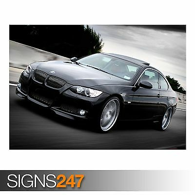 CAR POSTER AB941 Photo Picture Poster Print Art A0 A1 A2 A3 A4 RED BMW
