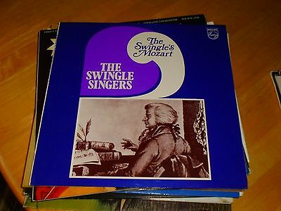 Lp/ The Swingle Singers /the Swingles Mozart (1964 Uk Philips Stereo
