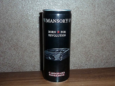Energy Drink MANSORY Born for Revolution Limited Edition LTD 250ml NEU NEW 1:18