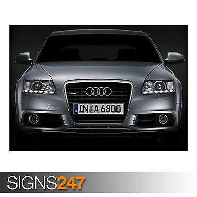 CAR POSTER Photo Picture Poster Print Art A0 to A4 AB488 AUDI R8 CAR 14