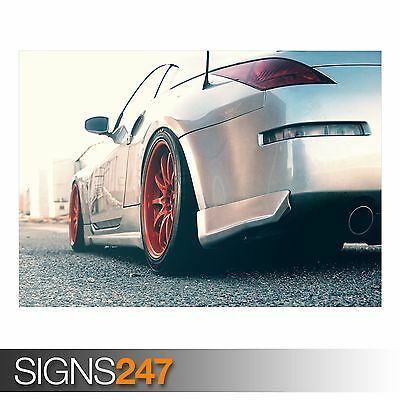 NISSAN 350Z Photo Picture Poster Print Art A0 A1 A2 A3 A4 AA401 CAR POSTER