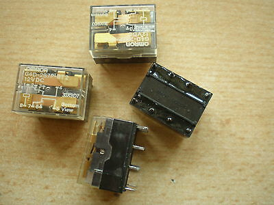 G4D-287P-BT2-PS-DC5V OMRON DPDT 2 POLE CHANGE OVER RELAY 5V QTY 10