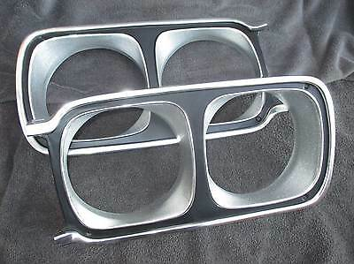 69 GTX HEADLIGHT BEZELS - NEW!!! - PLYMOUTH satellite Grill roadrunner 1969