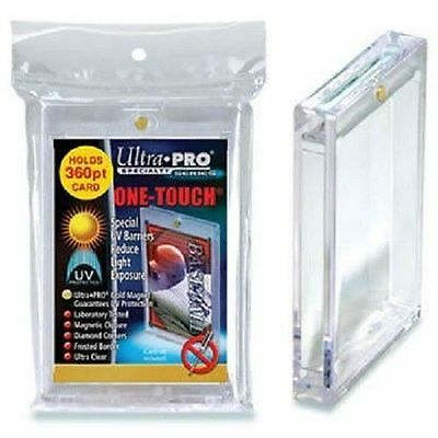 (1) Ultra Pro One Touch Magnetic 360pt Card Holder