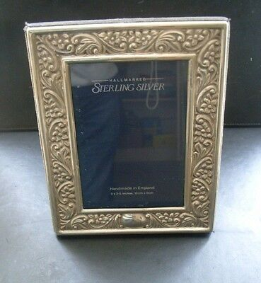 H/M Silver photo frame-Sheffield 1988-Carr's of Shefield-3.5 x 5 inches-handmade