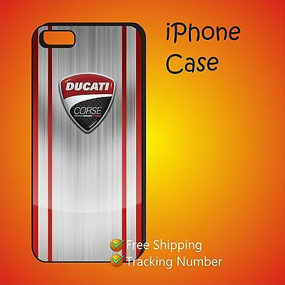 Ducati Corse Motosports Racing Case Cover iPhone 4s 5s 5c 6 6+ 6s 6s+ 7 7+ 8+