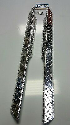 EZGO Golf Cart Part Diamond Plate Rocker Panel covers  Pair 1994 - 2012 TXT