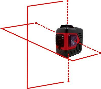 Beiter Technologies BRODY-X4P Red Laser Level, 4 Point Red Laser Level