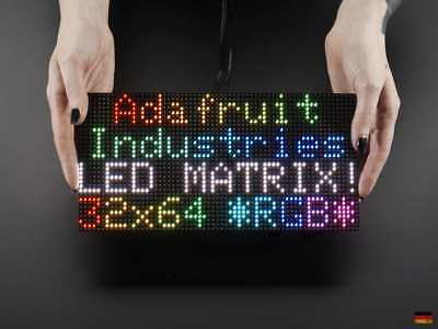 64x32 Full Color RGB Panel LED Matrix P4 4mm Pitch Adafruit Raspberry Pi