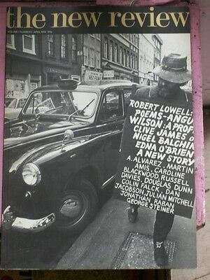 THE NEW REVIEW Vol 1 No 1 April 1974 ROBERT LOWELL