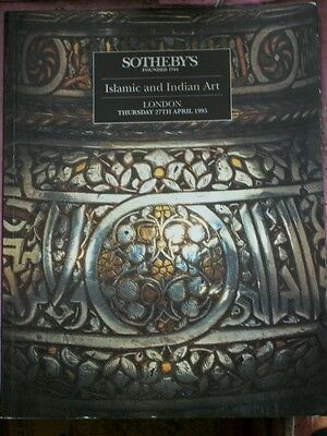 SOTHEBY'S ISLAMIC & INDIAN ART London 1995