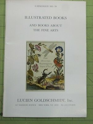 LUCIEN GOLDSCHMIDT Catalog 59 ILLUSTRATED BOOKS Fine