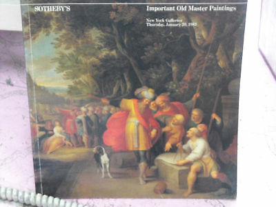 SOTHEBY'S Important Old Master Paintings January 1983