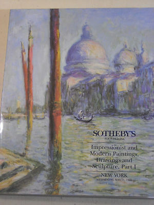SOTHEBY'S Impressionist, Modern Paintings Part 1, 1994