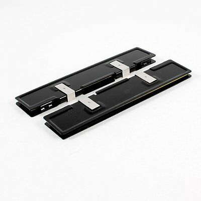 2 x Aluminum Heatsink Shim Spreader Cooler Cooling for DDR RAM Memory CT B3V5