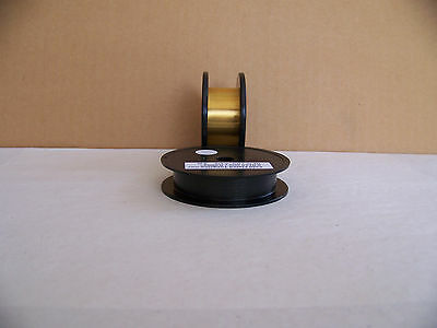 "Gold Plated -Tungsten / Wolfram wire  0.0125 mm./ 0.0005""  -   3 m / 10 ft."