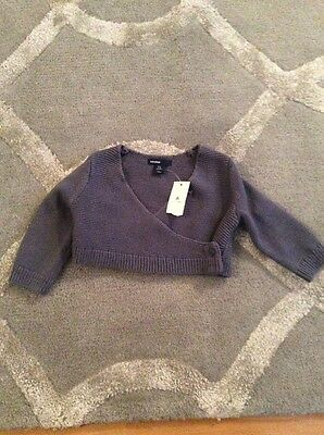 Baby Gap Ballet Style Cardigan 3-6 Months BNWT