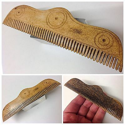 Very Rare Ancient Roman Bone Hair Comb 1st Century A.D. Perfect Condition!