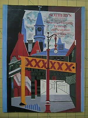 Sotheby's AMERICAN PAINTINGS, DRAWINGS, SCULPTURE New York auction catalog 1992