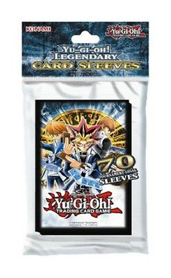 Yu-Gi-Oh (LEGENDARY JOEY YUGI KAIBA Card Sleeves) 70 ct Official Konami Products
