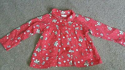 baby girls 12 to 18 months floral cardigan