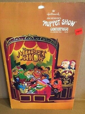Vintage Hallmark Jim Henson MUPPETS The Muppet Show CENTERPIECE UNUSED!