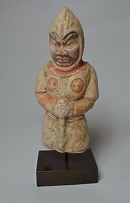 FINE Chinese  Han dynasty PotteryFigure 206 BCE-220 CE China 中国古董