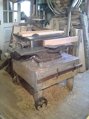 Combination Tablesaw & Jointer on Movable Base
