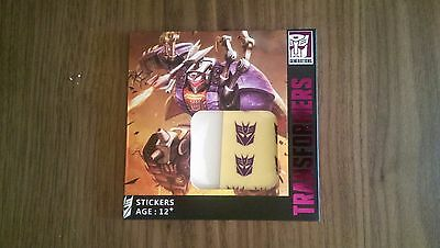 Hasbro Ocean Design Transformers Decepticon Logo Decals Stickers