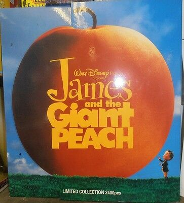 James And The Giant Peach.set Of Plush Toys.rare Limited Edition Jun Planning