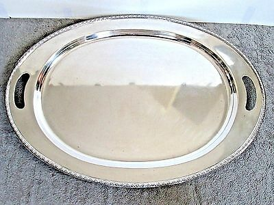 Frank Smith Sterling Silver Large Oval Serving Tray