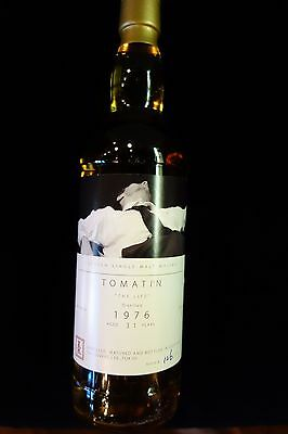 "Tomatin 31 year old scotch whisky, "" the Life""    ""rare collectable"""