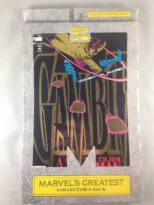 Gambit 1 2 3 4 Marvel's Greatest Collector's Pack 1993  Brand New Sealed X-Men