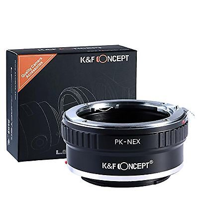 K&F Concept Lens Mount Adapter for Pentax PK K Mount Lens to Sony NEX E-M...