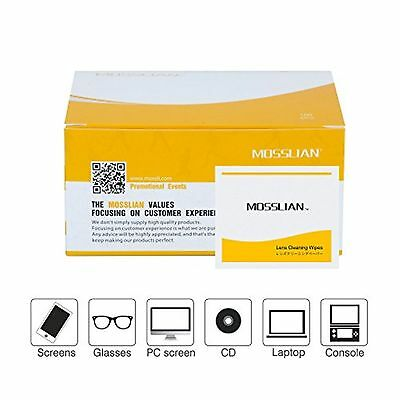 Cleaning Wipes: MOSSLIAN Pre-Moistened Cleaning Wipes for Clear Eyeglasses Sm...