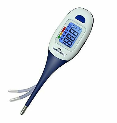 Easy@Home Digital Thermometer for Oral Rectal or Axillary Underarm Body Tempe...