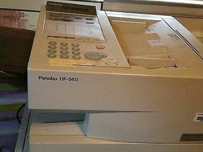 Panasonic UF-560 High Quality Laser B & W Heavy Duty Copy and Fax Machine