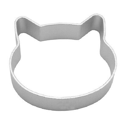 Metal Cat Head Shaped Aluminium Fondant Cookie Cake Sugarcraft Plunger Cutter