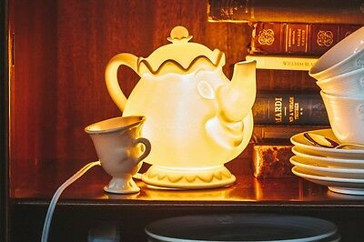 Afternoon Tea LIVING Tea pot room lump Mrs Potts and Chip Beauty and The beast