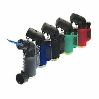 Double Tourch Angle Lighter Jet Flame Torch W/F Refillable Cigarette Lighters